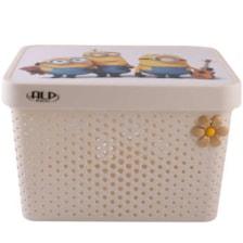 جعبه اسباب بازی کودک آلپ طرح مینیون مدل 102045