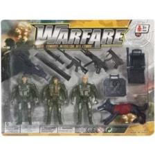 ست اسباب بازی سرباز جنگی مدل WARFARE