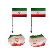 مجموعه پرچم ایران مخصوص خودرو مدل J-2019