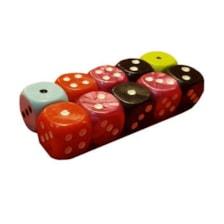 تاس بازی مدل cube بسته 10 عددی