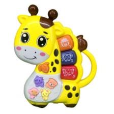 بازی آموزشی کیبورد مدل happy giraffe 69