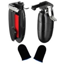 دسته بازی Pubg مدل JBV14 مناسب برای تبلت به همراه آستین کنترل کننده انگشت