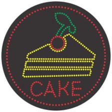 تابلو ال ای دی آیاز مدل کیک کد 447