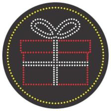 تابلو ال ای دی آیاز مدل کادو کد 359