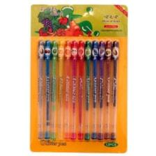 خودکار اکلیلی 12 رنگ مدل Glitter Pen
