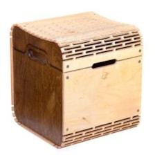صندوقچه و صندلی دلتاگراف سایز کوچک