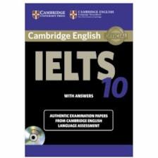 کتاب زبان IELTS Cambridge 10 همراه با CD انتشارات کمبریج