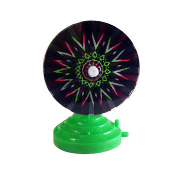 چرخ نئون آکواریوم  مدل هفت رنگ