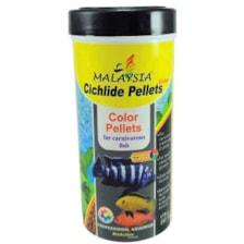 غذای ماهی مالزی مدل cichlids pellets وزن 175 گرم