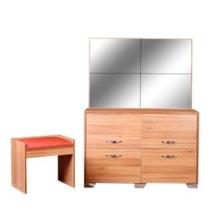 میز آرایش آینه و نشیمن لمكده مدل افس
