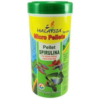 غذای ماهی مالزی مدل Micro Pellet Spirulina وزن 140 گرم