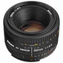لنز نیکون مدل 50mm F18 AF D