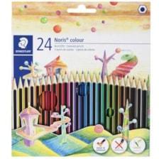 مداد رنگی 24رنگ استدلر مدل Noris Colour 185 C24