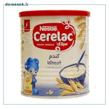 سرلاک گندم و موز و  شیر نستله از پایان 7 ماهگی 400 گرم