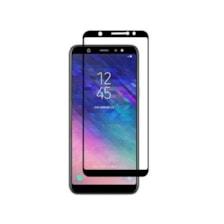 محافظ صفحه نمایش 6D فول گلس تمام چسب مناسب برای گوشی موبایل سامسونگ گلکسی A6 Plus 2018