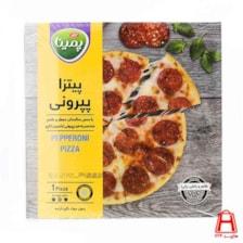 پیتزا پپرونی کاپو سایز متوسط پمینا ( کاله )