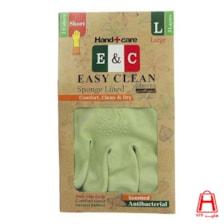 دستکش خانگی ساق کوتاه 3 لایه 2 رنگ سایز L ایزی کلین