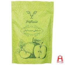 حلوا مسقطی سیب ژله ای پاکت زیپ دار 400 گرمی شیگوار