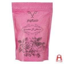 حلوا مسقطی گل محمدی ژله ای پاکت زیپ دار 400 گرمی شیگوار